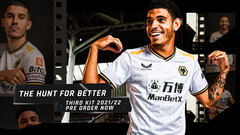 Wolves and Castore launch third kit