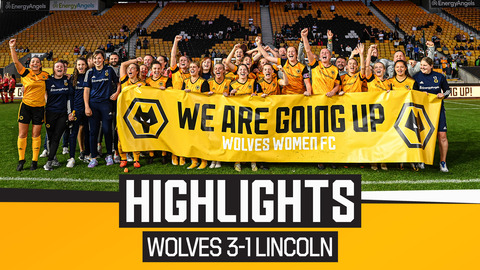 Wolves Women 3-1 Lincoln Women | Highlights from Molineux