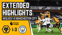 Wolves 1-3 Man City | Extended Highlights
