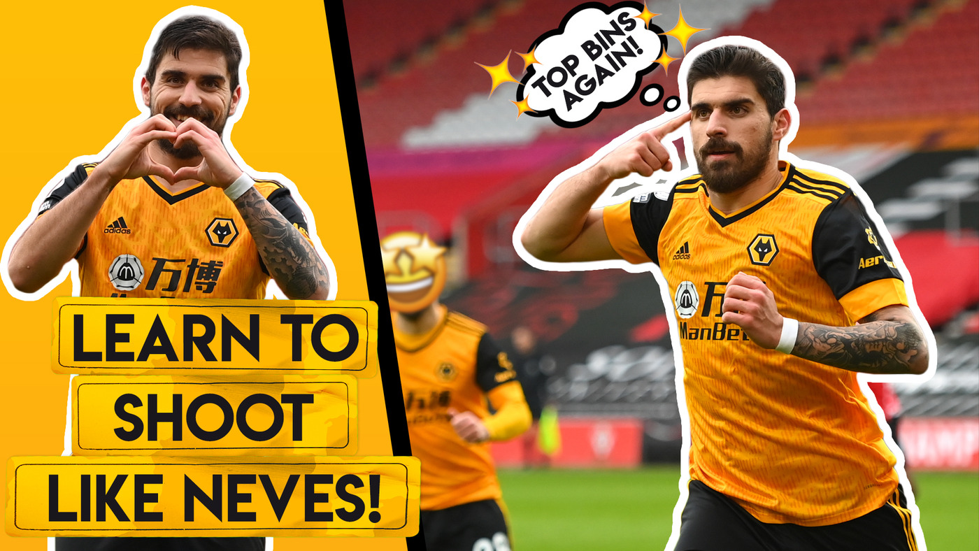 HOW TO SHOOT LIKE RUBEN NEVES!   Hit top bins with your shots and free-kicks!
