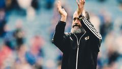 Nuno reacts to VAR decision v Leicester City