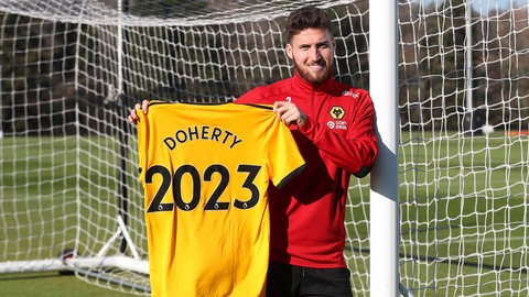 Doherty commits his future to Wolves