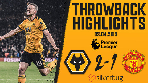 Jota strikes against the Red Devils! | Wolves 2--1 Manchester United | Throwback Highlights