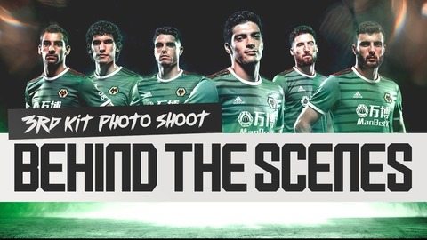 Behind the scenes of the third kit photo shoot!