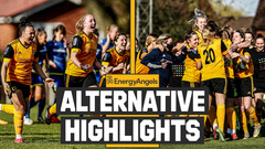 Relive the FA Cup penalty drama! | Wolves Women 2-2 Forest Ladies (5-4 pens) | Alternative Highlights