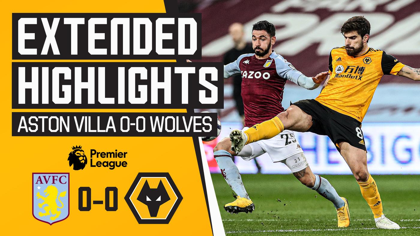 Stalemate at Villa Park | Aston Villa 0-0 Wolves | Extended Highlights