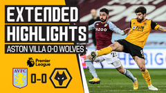 Stalemate at Villa Park | Aston Villa 0-0 Wolves | Extended Highlights