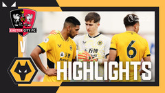 Exeter City 2-3 Wolves | PL Cup Highlights