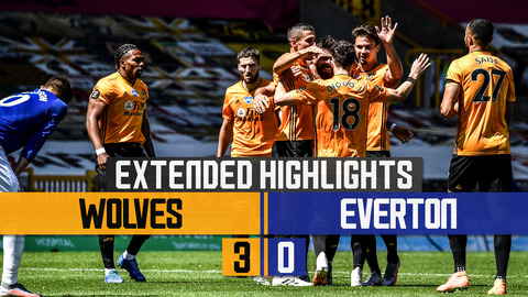 PODENCE SHINES IN DOMINANT WOLVES WIN! | Wolves 3-0 Everton | Extended Highlights