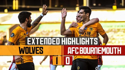 RAUL STRIKES AGAINST THE CHERRIES | Wolves 1-0 Bournemouth | Extended highlights