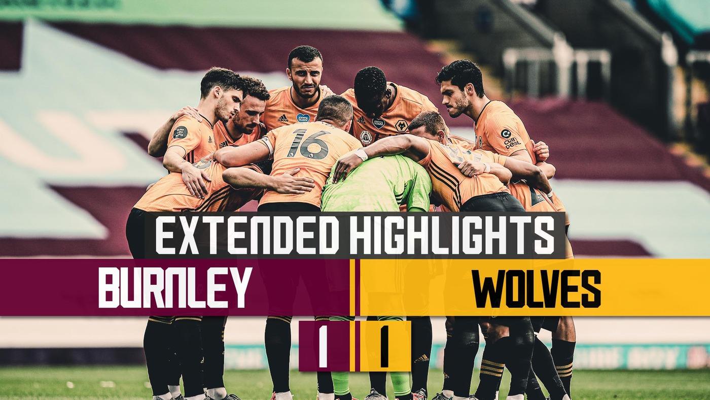 Late penalty heart break for Wolves | Burnley 1-1 Wolves | Extended Highlights