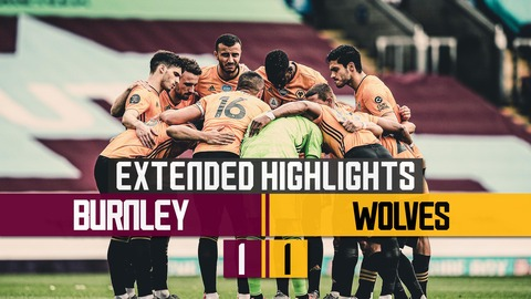 Late penalty heart break for Wolves | Burnley 1-1 Wolves | Extended Highlights