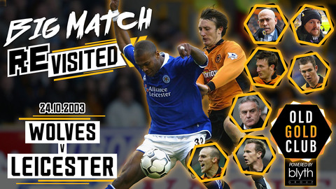 Wolves 4-3 Leicester | Full 2003 match with Dave Jones, Alex Rae, Kenny Miller, Lee Naylor