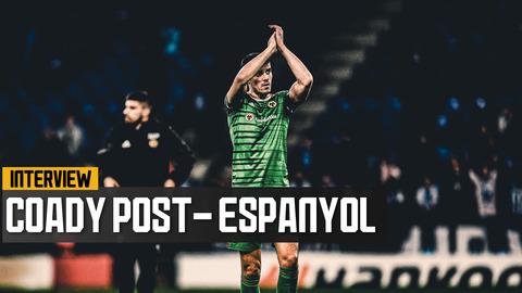 Coady on progression in the Europa League