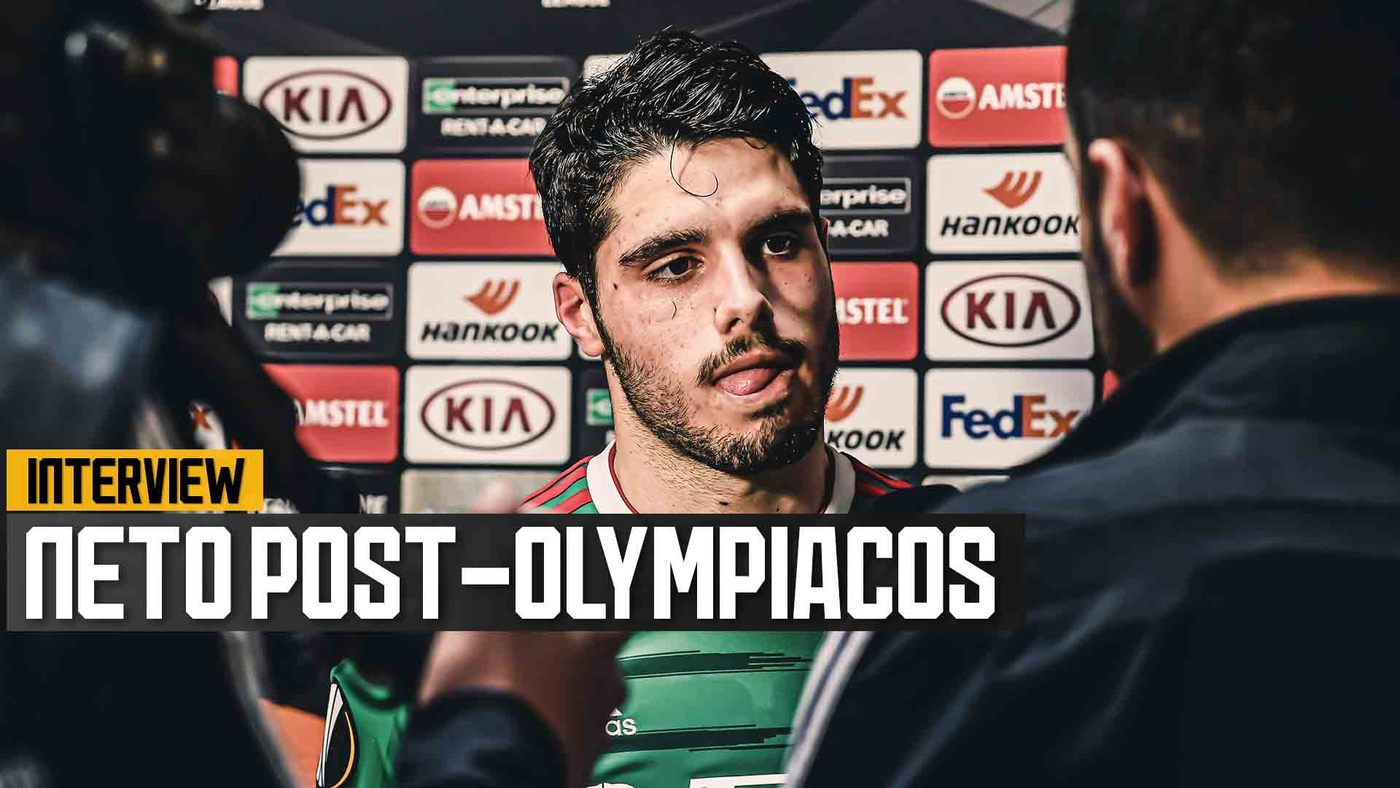 Pedro Neto pleased with goal, but not result at Olympiacos