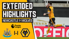 Points shared on the Tyne | Newcastle 1-1 Wolves | Highlights