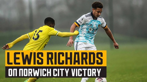 Goalscorer Richards on Norwich win