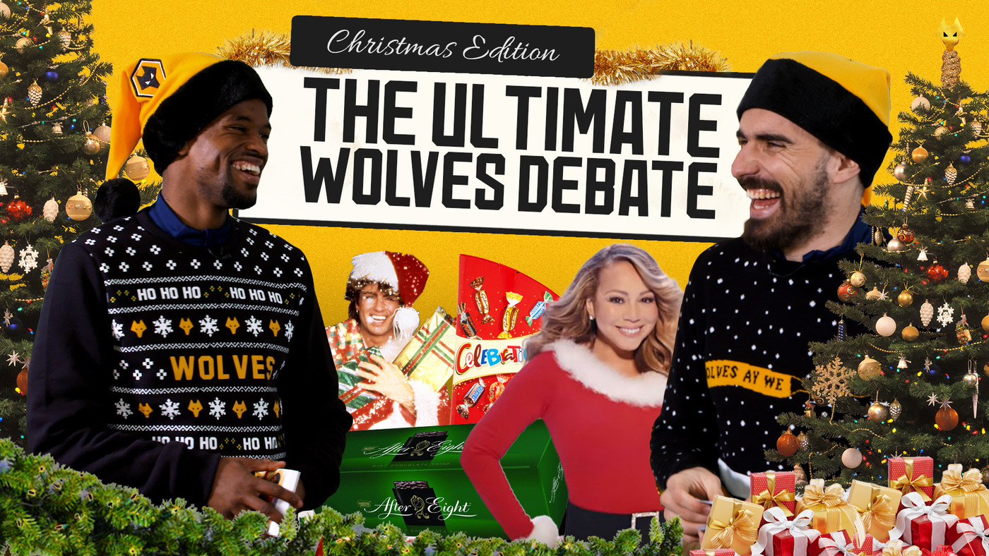 THE ULTIMATE WOLVES CHRISTMAS DEBATE | PORTUGAL EDITION FT. NEVES AND SEMEDO!