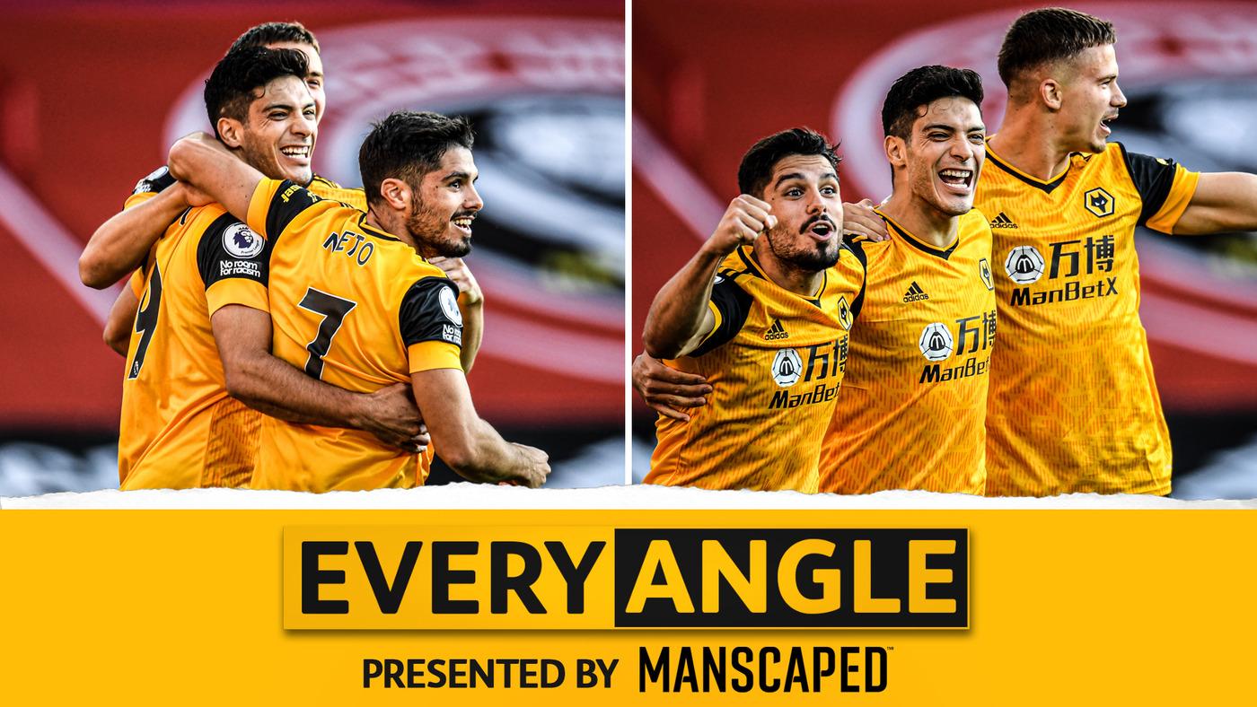 Every Angle | Raul Jimenez's beautiful finish against Sheffield United