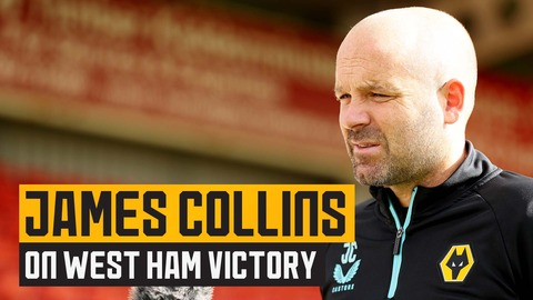 Collins on West Ham win, improving in possession and Yerson Mosquera's injury return