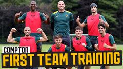 Trincao on winning side in training! | Pre-season preparations