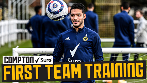 Raul's recovery continues! | Jimenez begins ballwork at Wolves training ground