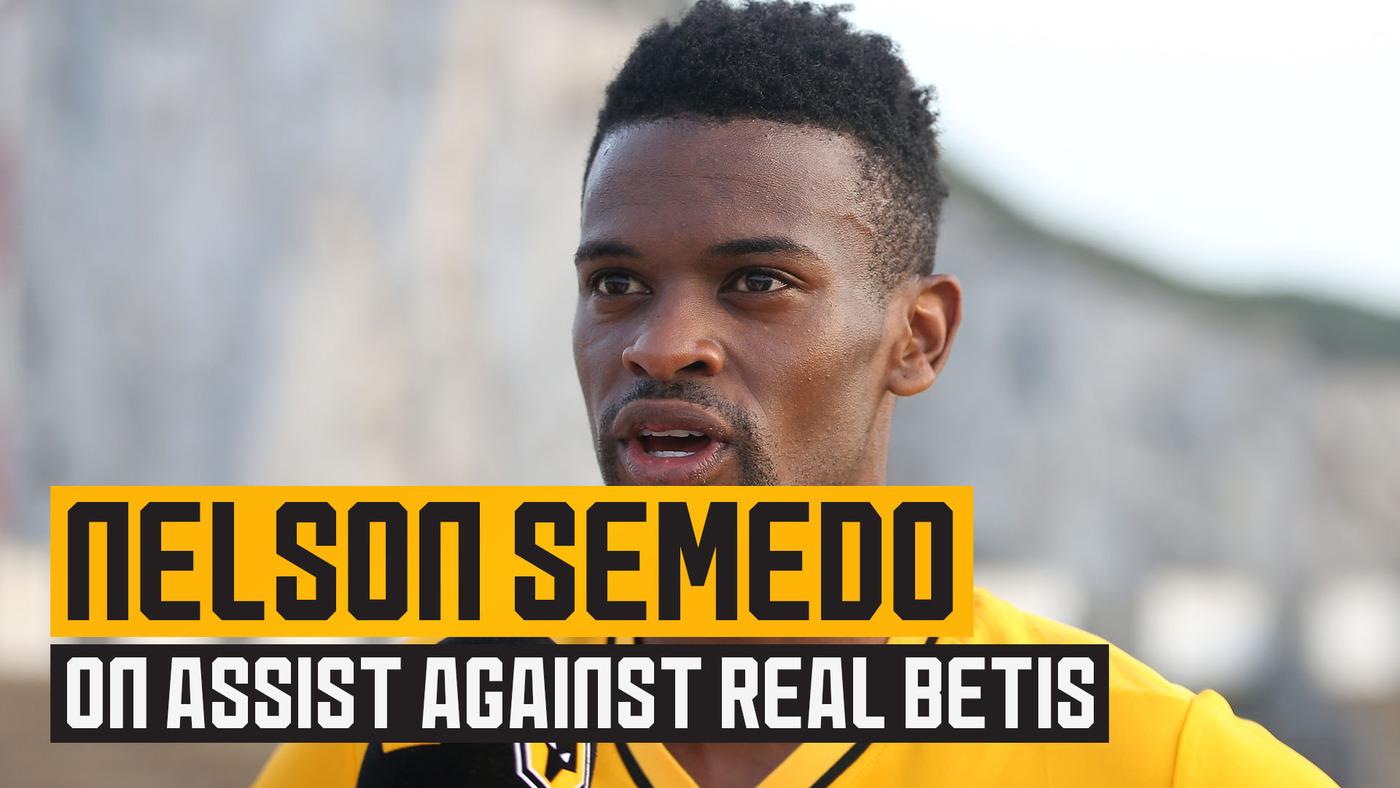 Semedo on friendly win and his return to pre-season