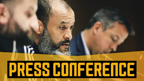 Nuno on Espanyol, team selection and Europa League momentum