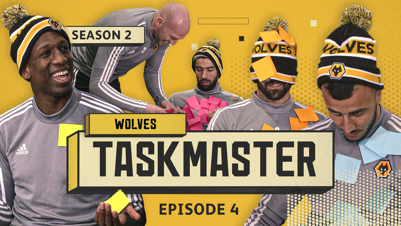 'WE NEED VAR!' | WOLVES TASKMASTER S2 E4 | STICKY NOTE CHALLENGE