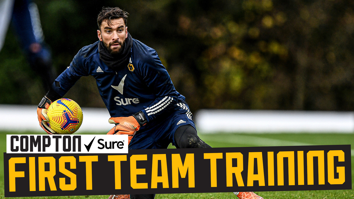 Adama Traore and Willy Boly return! | Wolves train ahead of the Black Country derby