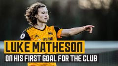 Matheson reflects on his first goal for the club!