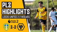Wolves fight back to earn a point! Leeds United 2-2 Wolves | PL2 Highlights