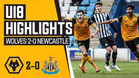 Hubner and Farmer fire Wolves Under-18's past The Magpies! | Under 18's Highlights | Wolves 2-0 Newcastle United