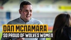 Proud McNamara upbeat despite cup exit