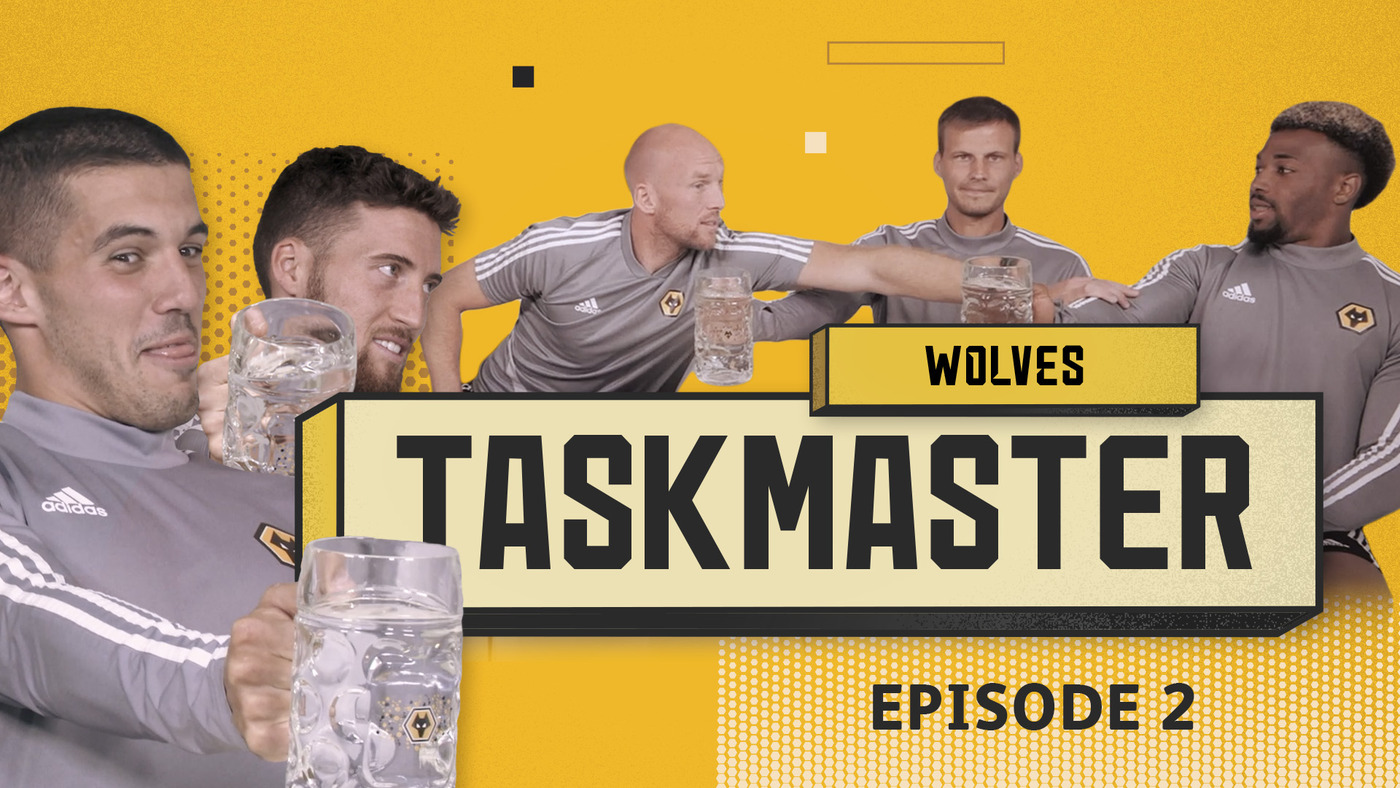 IS ANYONE STRONGER THAN ADAMA TRAORE? | WOLVES TASKMASTER | EPISODE 2