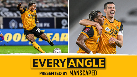 Every Angle | Adama Traore's screamer against Crystal Palace