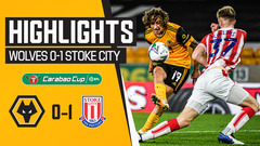 Wolves 0-1 Stoke City | Carabao Cup Highlights