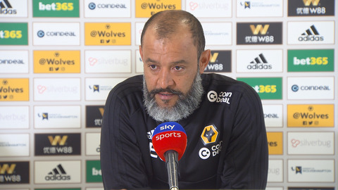 Nuno's pre-Fulham press conference