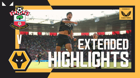 RAUL JIMENEZ IS BACK!   Southampton 0-1 Wolves   Highlights