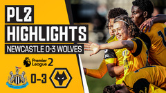 Luke Matheson's first goal for Wolves! | Newcastle United 0-3 Wolves U23s | PL2 Highlights