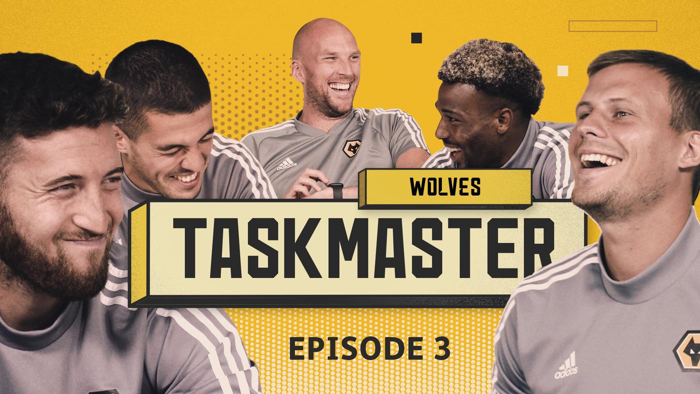 'MAKE THE LONGEST NOISE' WOLVES | TASKMASTER | EPISODE 3