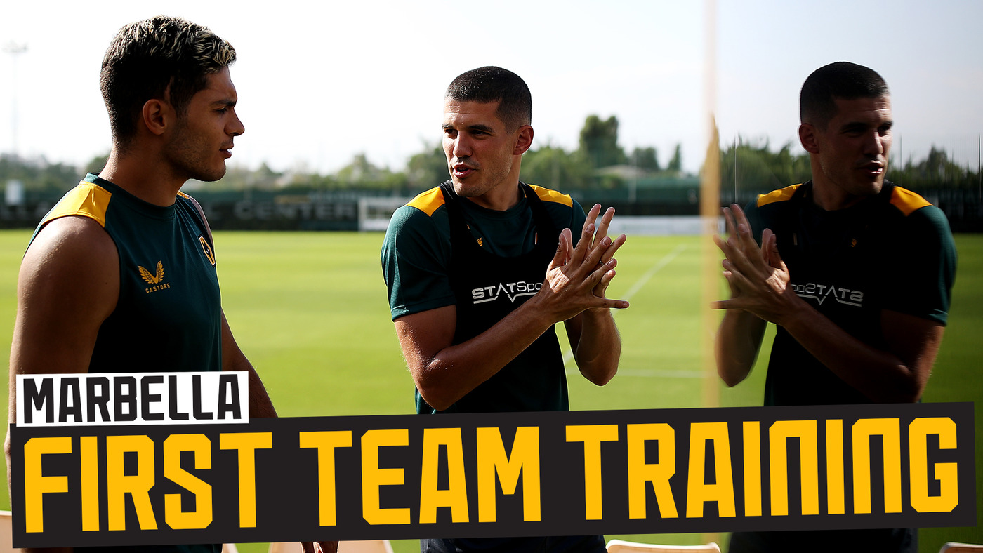 Traore's workout, Coady meets Bruno! | Final Marbella training session