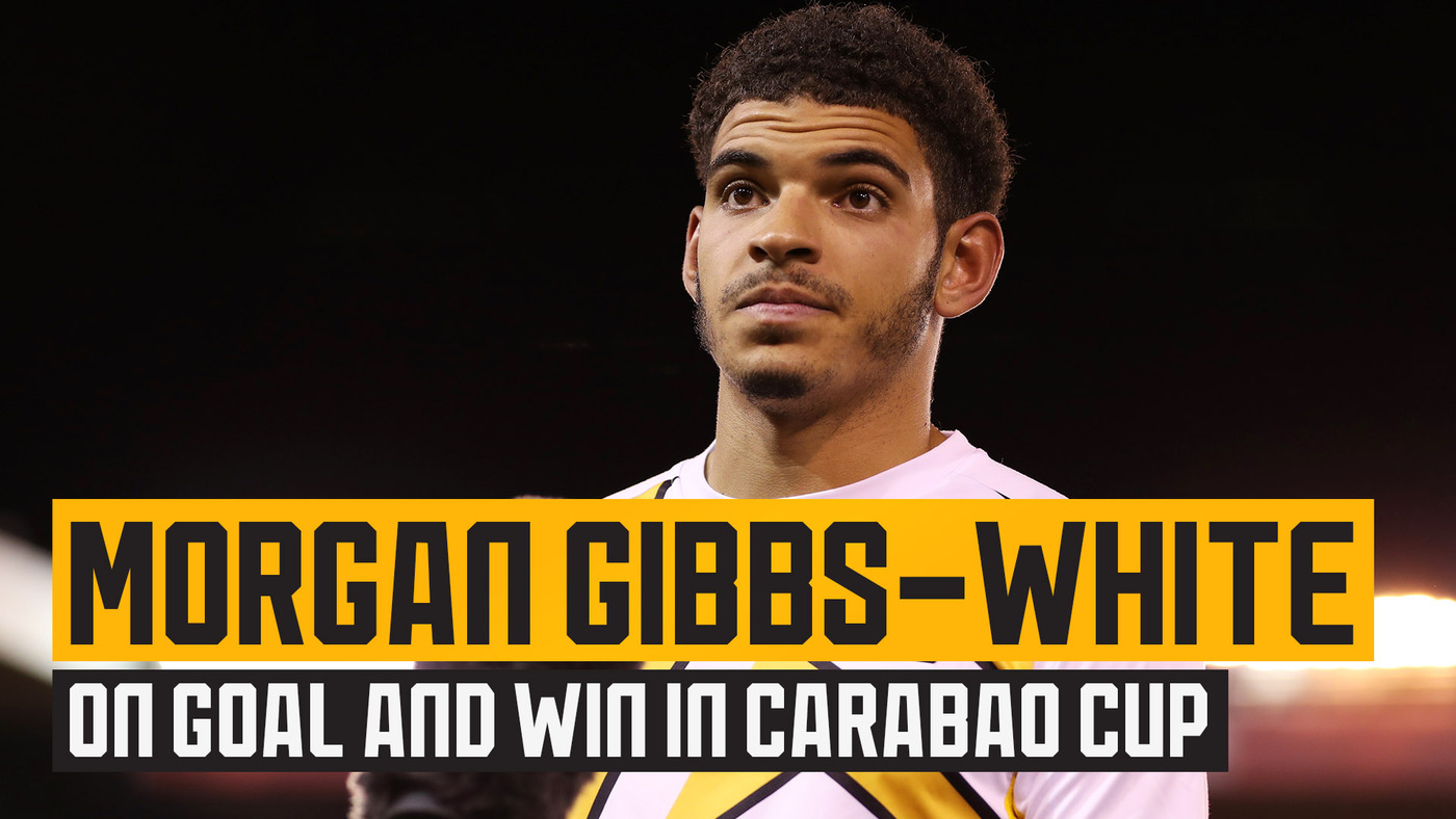 Gibbs-White delighted with his goal and victory over Nottingham Forest