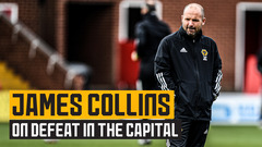 Collins on a good performance but a tough loss