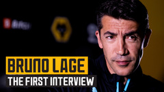 WELCOME BRUNO! | The first interview with Bruno Lage!
