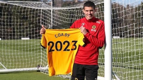 Coady signs until 2023