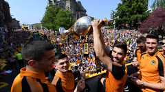 Champions Parade - On The Bus