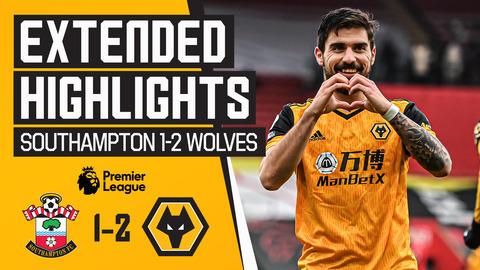 NEVES & NETO ENSURE A SAINTS VALENTINE'S VICTORY | Southampton 1-2 Wolves | Highlights