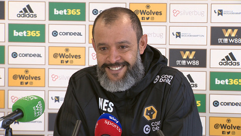 Nuno's pre-Tottenham press conference