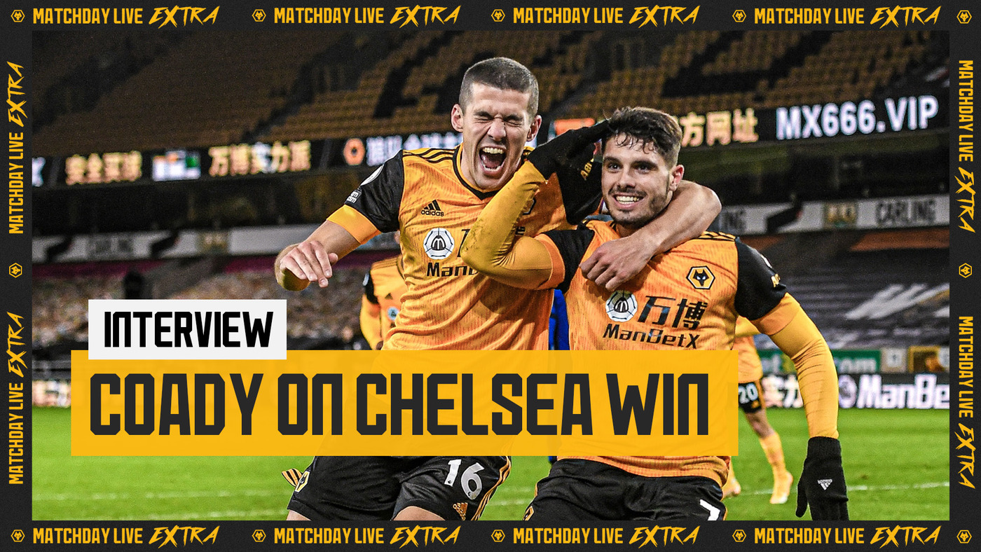 Conor Coady reflects on Chelsea win | Matchday Live Extra Interview